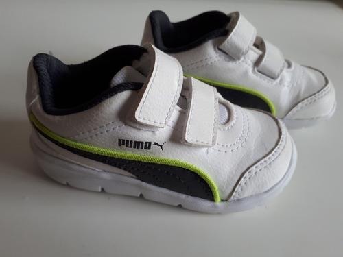 cc97d0d468071 Tennis Para Meninos - Marca: Puma - Tam. 20