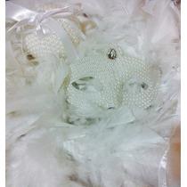 Máscara Julieta Branca Luxo Gala Plumas Festa Noiva