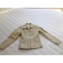 Jaqueta Em Couro Legítimo, Produto Usado - Tamanho M