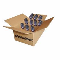 Kit 10 Controles Portão Duplicador Clone 433,92 Mhz