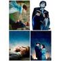 Kit Com 4 Placas Decorativas A4 Filmes Cinema Vários Modelos