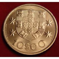 Moeda Antiga Portuguesa, 10 Escudos 1973, Bela Oferta