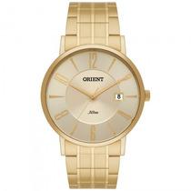 Relógio Orient Mgss1092 C2kx Masculino Dourado - Refinado