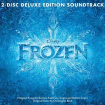 Cd Frozen (deluxe) = Trilha Score Ost [eua] Duplo Lacrado