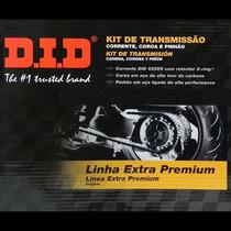 Kit Relacao Did Bmw F800gs - Pinhao Coroa E Corrente