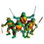 1 Boneco Tartarugas Ninja Retro 1988 Action Figura - Br032
