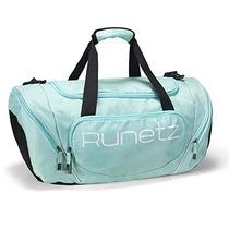 Runetz - Teal Quente Azul Ginásio Saco Esporte Ombro Saco P