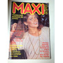Revista Maxi Desfile Trabalhos Manuais Xuxa Na Capa Ano 1980