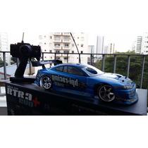 Rc Automodelo Rtr Nitro Rs4 Drift Nissan 3.0 1/10 Combustão