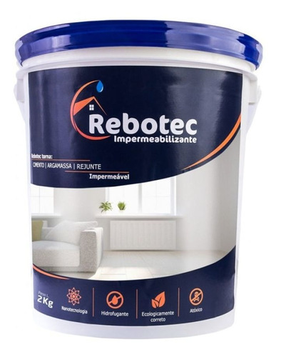 Impermeabilizante Rebotec Nanotecnico 2kg