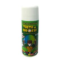 Spray Colorir Cabelos Tinta Da Alegria Carnaval Branco