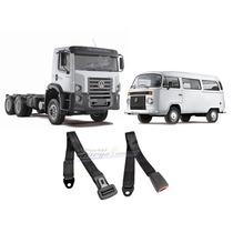 Cinto De Segurança 2 Pontos Kombi/caminhão Preto