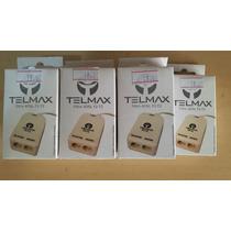Kit Com 07 Filtros Adsl 02 Saidas Telmax Novos