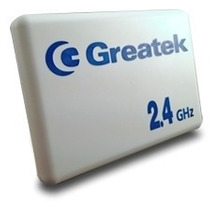 Antena Wireless Internet Greatek 2.4 Ghz 15 Dbi Wi-fi