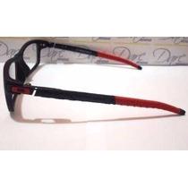 Armação Para Óculos De Grau Modelo Currency Ducati Red Black