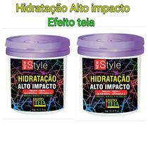 Hidratação Alto Impacto Efeito Teia New Style 2 Unidade