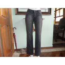 Calça Jeans Feminina Siberian Jeans Preta Tam 42 Com Strech
