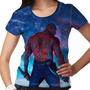 Camiseta Guardiões Da Galáxia Drax Feminina