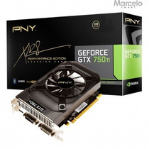 Placa De Vídeo Pny Geforce Gtx 750ti 2gb Gddr5 Com Garantia