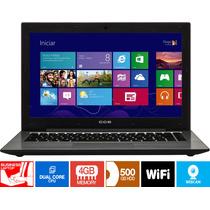 Notebook Intel 4gb 500gb Windows 8 Original - Promoção!!