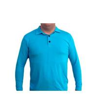 Camisa Gola Polo Proteção Solar (fpu 50+) Manga Longa