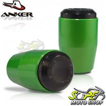 Slider Dianteiro Anker Cbr 1000 Rr 12 Em Diante Verde Candy