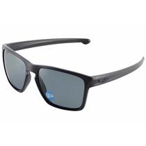Óculos Masculino Oakley Sliver Xl Matte Black Grey Polarized
