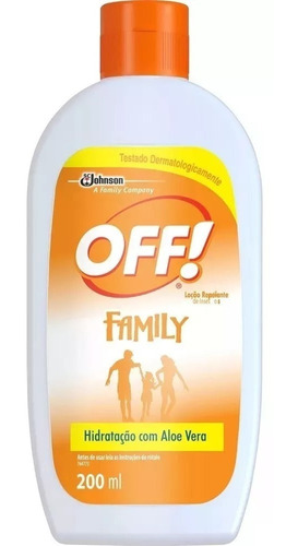 Repelente Off Hidratante Loção Family 200 Ml