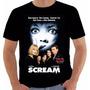 Camiseta Poster Original Filme Pânico Movie Scream