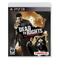 Playstation 3 - Dead To Rights: Retribution