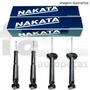 4 Amortecedores Nakata Nissan Frontier 4x4 2002/2008