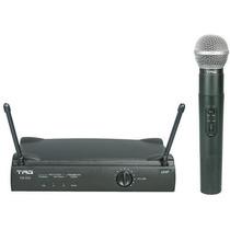 Microfone Tag Sound Tagima De Mão Sem Fio Uhf Tm559