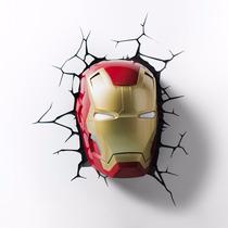 Luminária Iron Man - Homem De Ferro - Pronta Entrega