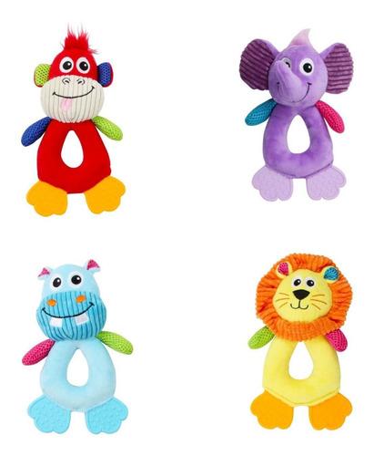 4 Brinquedos De Pelúcia - Coleção Vivid Life Pawise
