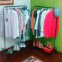 Kit 2 Pçs Arara Roupas Black Organizador Closet Sapateira