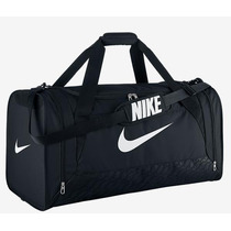 Bolsa Nike Brasilia 6 Preta (grande)
