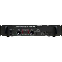 Amplificador Potência 550w Ciclotron W Power Ii 2200 Ab