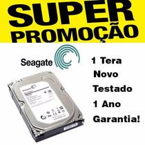 Hd Seagate Barracuda 1 Tb St1000dm003 Pc Novo
