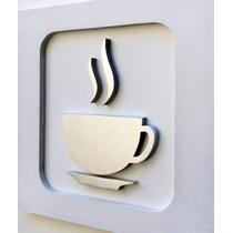 Quadro Decorativo Cozinha Café Pintura Mdf Personalizado