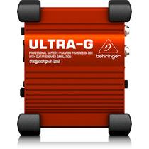 Direct Box Virtual Behringer P/ Guitarra Ultra-g Gi100 Novo