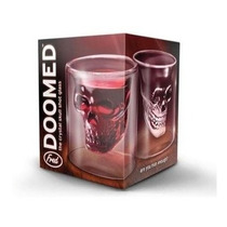 Copo Caveira Doomed 75 Ml Shot Dose Destilados Novo