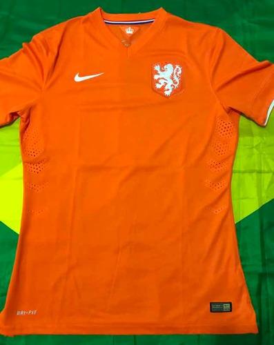 1bc69d4eb4 Camisa Oficial Nike Seleção Holanda 2014 N11 Robben Jogador