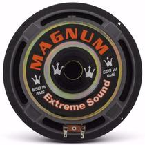 Magnum Auto Falante Subwoofer Rex 8 Polegadas 650w Rms