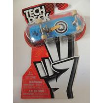 Tech Deck - Skate De Dedo + 2 Grips + Chave Fenda (lv 21)