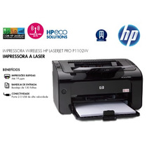 Impressora Laser Hp P1102w Ce658a Wireless E Usb