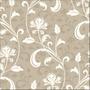Papel De Parede Vintage Floral - Adesivo 768