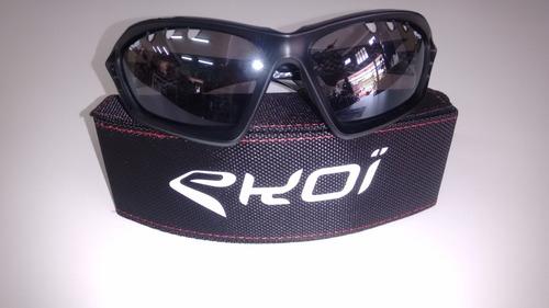 Oculos Ciclismo Ekoi Original Perso Evo 2 Preto C  Xadrez - R  349 ... 187e3b7e6a