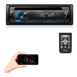 Toca Cd Mp3 Player Pioneer Rádio Fm Som Carro Deh 1180 Usb