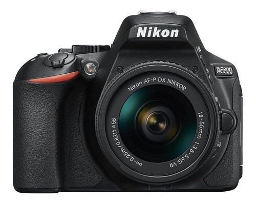 Nikon  D5600 18-55mm Vr Kit Dslr Preta