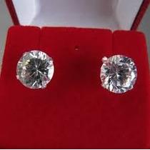 Brinco Masculino Em Prata 925 Com Diamante Sintético Lindo